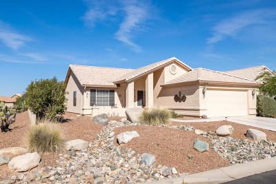 Saddlebrooke Single Family Home For Sale: 38774 S Desert Bluff Drive