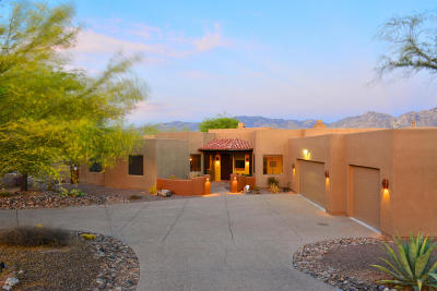 Oro Valley Single Family Home Active Contingent: 12292 N Reflection Ridge Drive