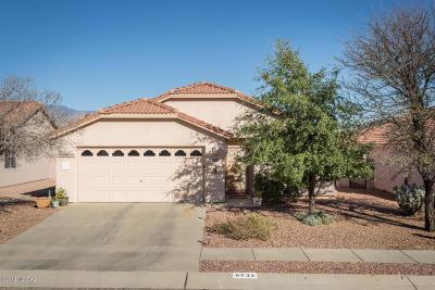 Tucson Single Family Home For Sale: 8732 N Lennon Place
