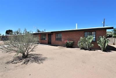 Tucson Single Family Home For Sale: 1032 W Simmons Street