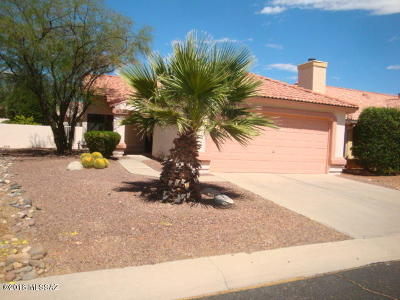 Tucson Single Family Home Active Contingent: 1218 W Desert Greens Way