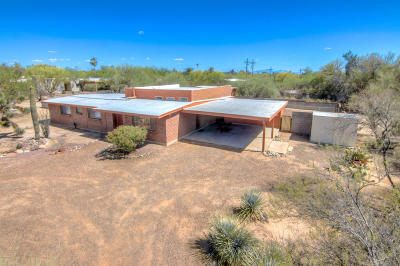 Tucson Single Family Home Active Contingent: 6830 N Leonardo Da Vinci Way