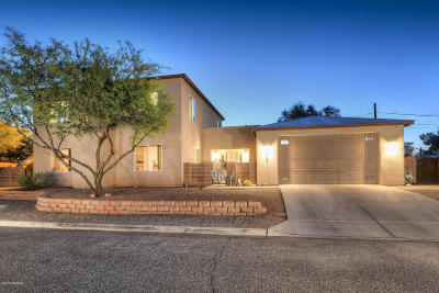 Tucson Single Family Home Active Contingent: 3836 N Look Backridge Place