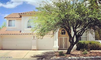 Tucson Single Family Home For Sale: 9881 N Windwalker Trail