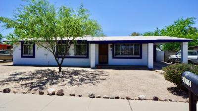 Tucson Single Family Home Active Contingent: 3101 W Shumaker Drive