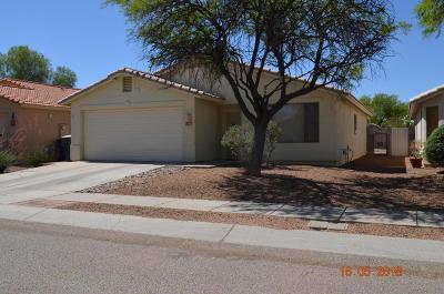 Tucson Single Family Home Active Contingent: 9186 E Placita Arroyo Seco