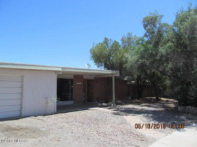 Tucson Single Family Home For Sale: 8134 E Holmes Place