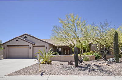 Tucson Single Family Home For Sale: 11853 N Whispering Ridge Drive