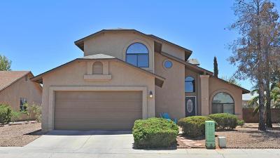 Tucson Single Family Home For Sale: 2631 W Camino Del Medrano