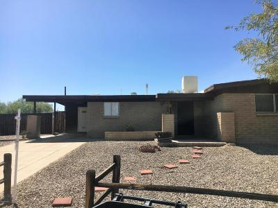 Single Family Home For Sale: 7551 N Placita De Teresa