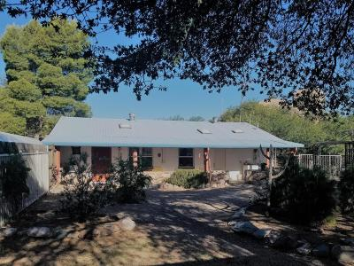 Oracle Single Family Home Active Contingent: 1950 E Mt Lemmon Highway