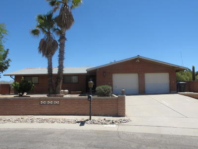 Tucson Single Family Home For Sale: 2122 N Tanglewood Place
