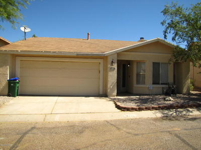Tucson Single Family Home For Sale: 4708 W Sleepydale Court