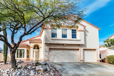 Oro Valley Single Family Home Active Contingent: 11915 N Deerclover Lane