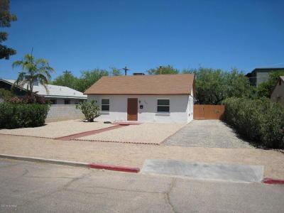 Tucson Single Family Home For Sale: 1107 E 9th Street