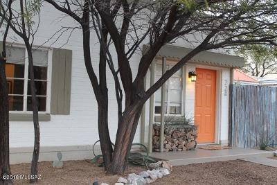 Tucson Single Family Home For Sale: 220 N Tyndall Avenue
