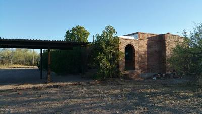 Tucson Single Family Home Active Contingent: 8400 S Fuller Road