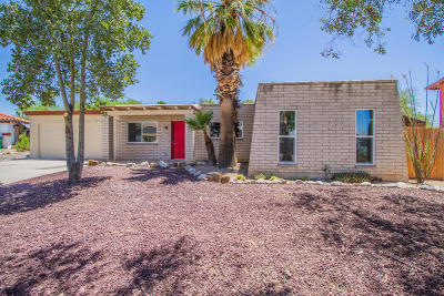 Tucson Single Family Home Active Contingent: 7612 N Dido Place
