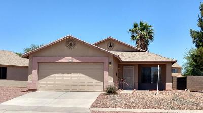 Tucson Single Family Home For Sale: 7746 S Meadow Spring Way