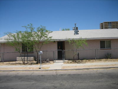 Tucson Single Family Home For Sale: 508 W Mabel Street