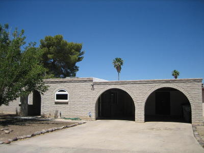 Tucson Single Family Home For Sale: 8930 E Old Spanish Trail