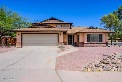 Tucson Single Family Home For Sale: 1624 W Trendwood Drive