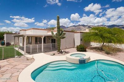 Tucson Single Family Home For Sale: 5458 N Crescent Ridge Drive