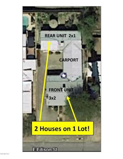Tucson Single Family Home For Sale: 2831 E Edison Street