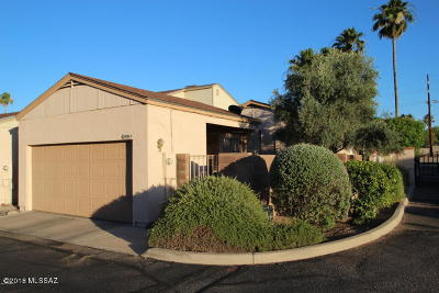 Tucson Townhouse For Sale: 2404 N Palo Hacha Drive