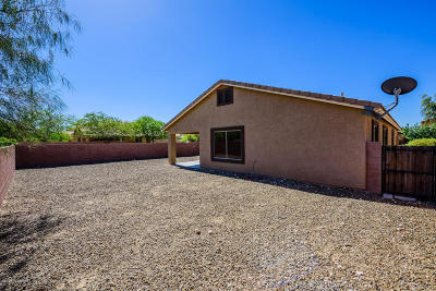 Tucson AZ Single Family Home Active Contingent: $172,000