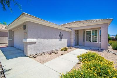 Marana AZ Single Family Home Active Contingent: $265,000