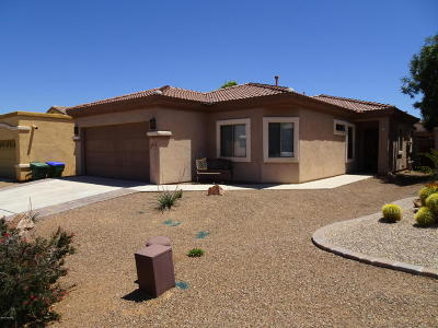 Sahuarita AZ Single Family Home Active Contingent: $179,500