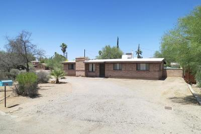 Tucson Single Family Home For Sale: 4101 E Kings Road