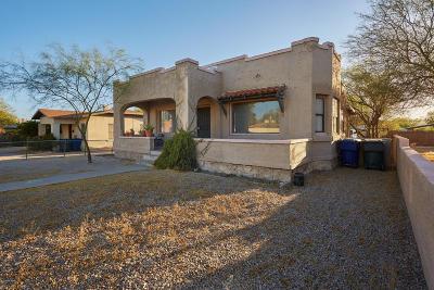 Tucson Single Family Home For Sale: 1221 N Euclid Avenue