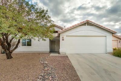 Tucson Single Family Home For Sale: 858 N Silverleaf Oak Place