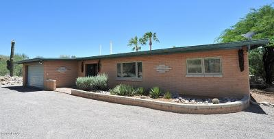 Tucson Single Family Home Active Contingent: 5122 E Camino Alisa