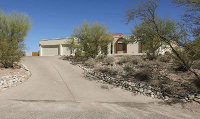 Tucson Single Family Home Active Contingent: 4469 N Camino Gacela
