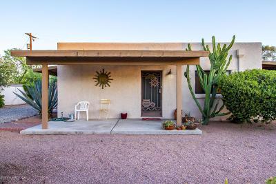 Tucson Single Family Home For Sale: 4066 E Hayne Street