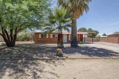 Tucson Single Family Home For Sale: 6562 E Calle Herculo