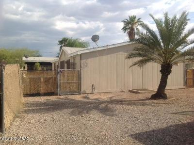 Pima County Manufactured Home Active Contingent: 241 W Rillito Street