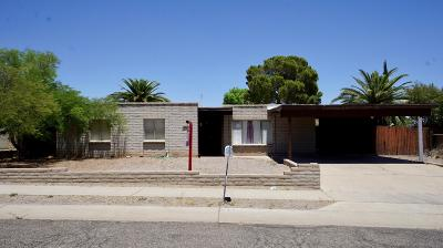 Tucson Single Family Home For Sale: 2952 W Canada Street