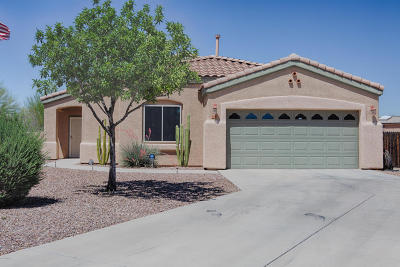 Tucson Single Family Home For Sale: 5455 S Crimson Thorn Drive