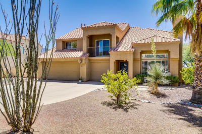 Single Family Home Active Contingent: 10720 N Ridgewind Court