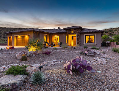 Tucson Single Family Home For Sale: 66258 E Peregrine Place
