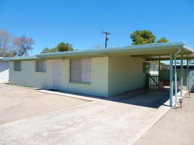 Tucson Single Family Home For Sale: 1612 W Kilburn Road