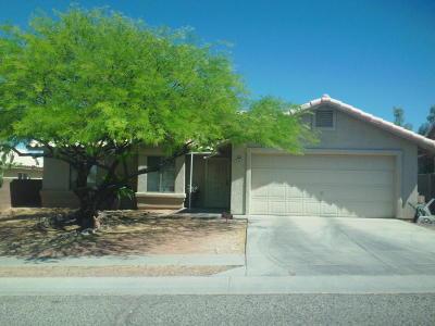 Tucson Single Family Home Active Contingent: 2591 W Calle Cuero De Vaca