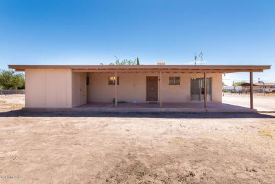 Tucson Single Family Home For Sale: 10200 S Green Drive