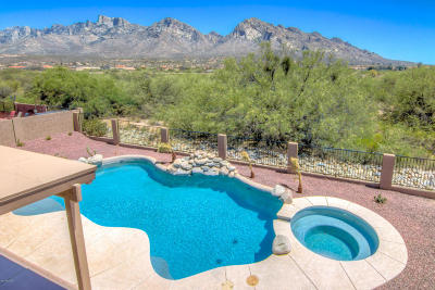 Oro Valley Single Family Home For Sale: 334 E Shore Cliff Place