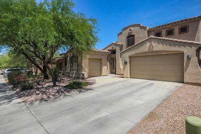 Tucson Single Family Home Active Contingent: 7890 N Coltrane Lane