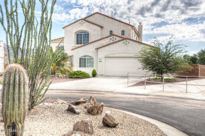 Rio Rico Single Family Home Active Contingent: 1113 Vista De Los Alamos